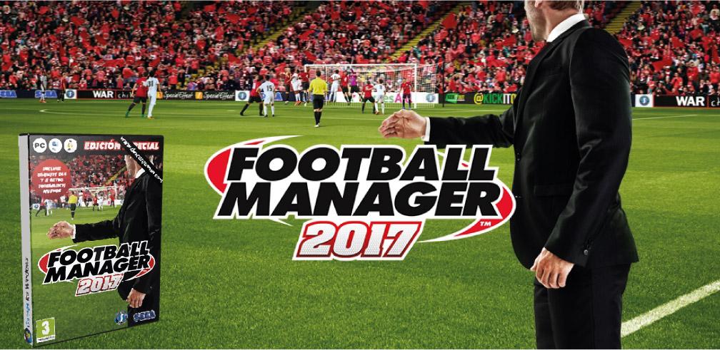 FOOTBALL MANAGER 2017 PC TORRENT DESCARGA 🎮