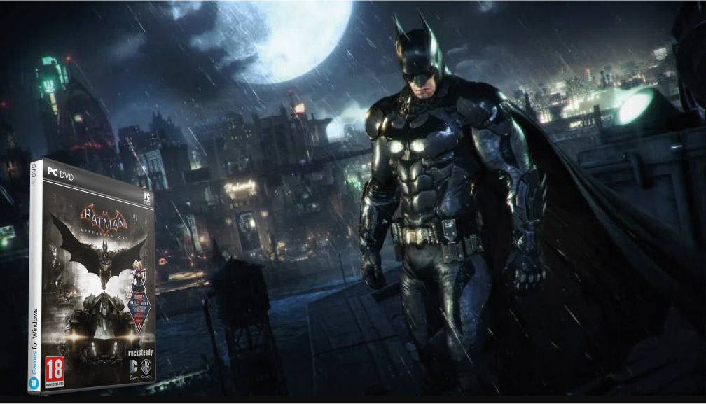 BATMAN ARKHAM KNIGHT JUEGO COMPLETO PC 🎮