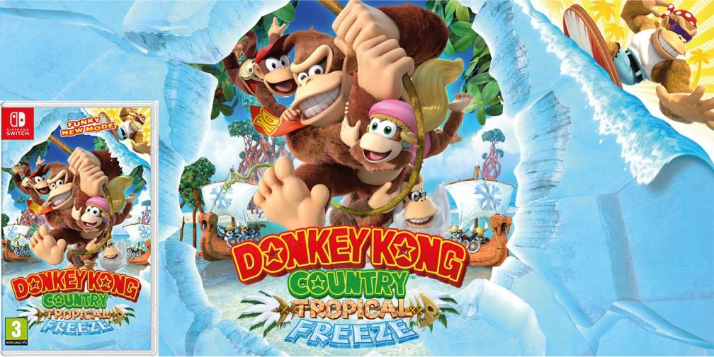DONKEY KONG COUNTRY TROPICAL FREEZE 🎮 ROM SWITCH TORRENT – MEGA