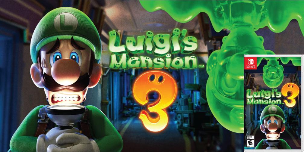 LUIGI'S MANSION 3 🎮 SWITCH ROM