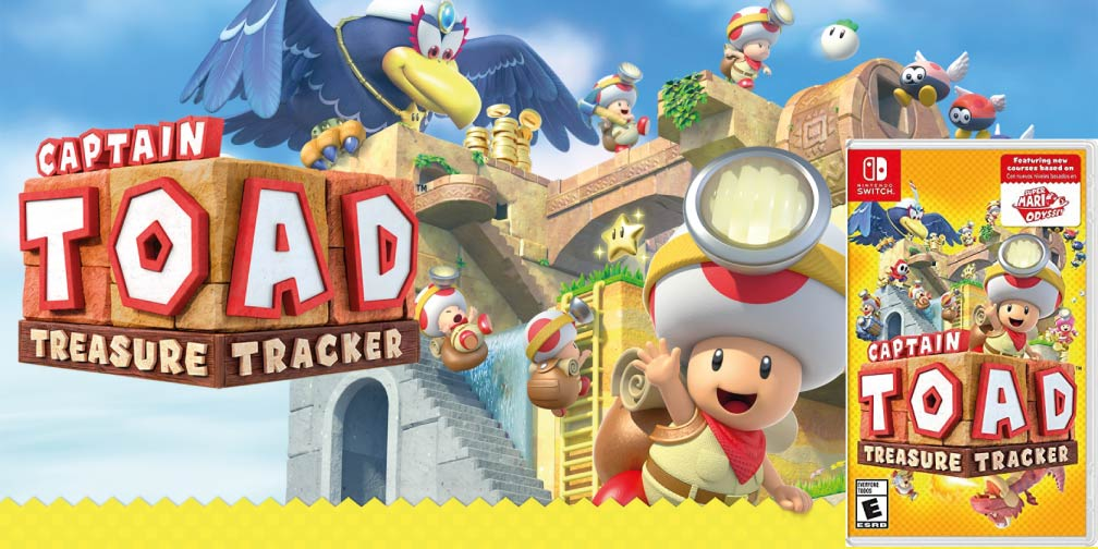 CAPTAIN TOAD TREASURE TRACKER 🎮 SWITCH ROM