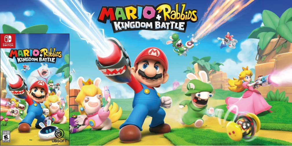 MARIO + RABBIDS KINGDOM BATTLE 🎮 SWITCH ROM