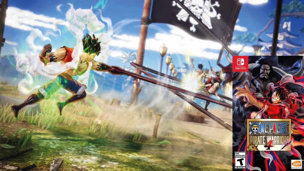 ONE PIECE: PIRATE WARRIORS 4 🎮 SWITCH NSP