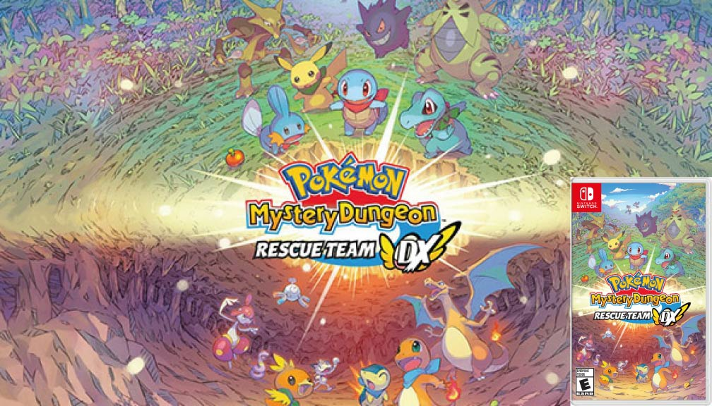 POKEMON MYSTERY DUNGEON RESCUE TEAM DX 🎮 SWITCH ROM