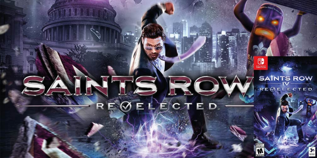 SAINTS ROW 4: RE-ELECTED 🎮 SWITCH NSP