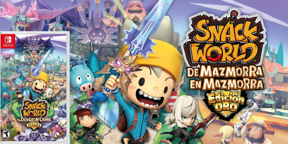 SNACK WORLD 🎮 SWITCH ROM NSP – XCI