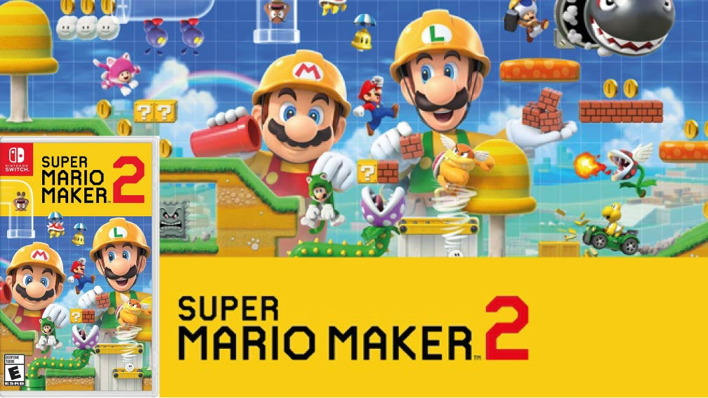 SUPER MARIO MAKER 2 🎮 SWITCH ROM