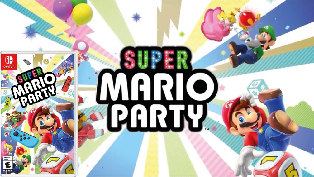 SUPER MARIO PARTY 🎮 SWITCH ROM