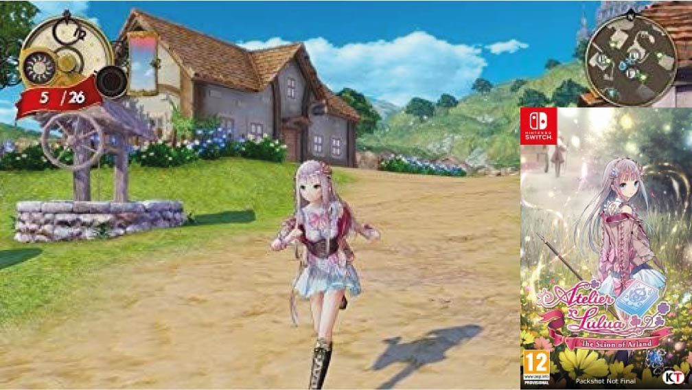 ATELIER LULUA THE SCION OF ARLAND 🎮 SWITCH ROM