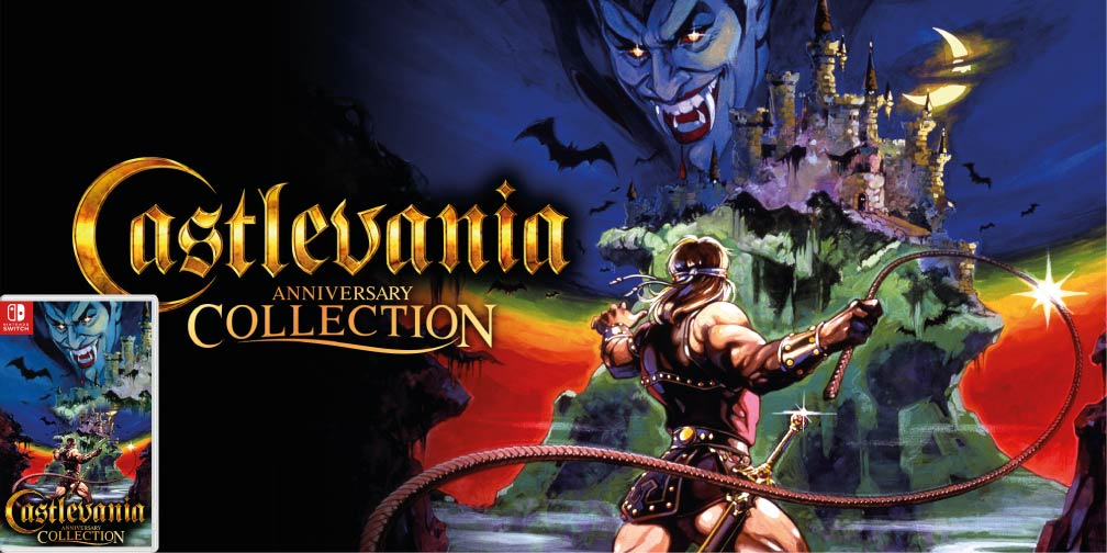 CASTLEVANIA ANNIVERSARY COLLECTION 🎮 SWITCH ROM NSP