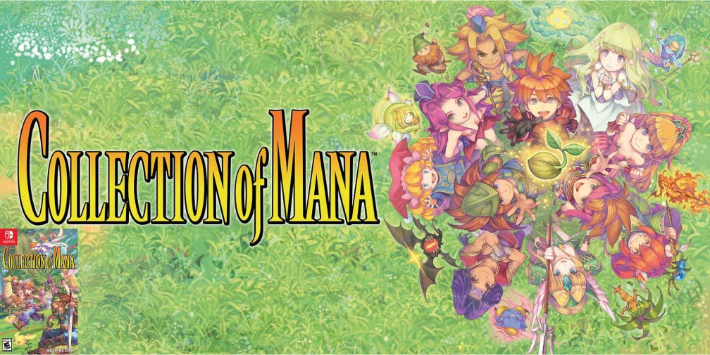 COLLECTION OF MANA 🎮 SWITCH ROM NSP