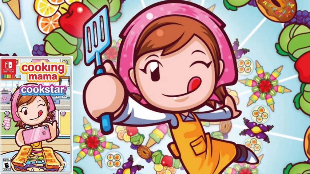 COOKING MAMA: COOKSTAR  🎮 NINTENDO SWITCH ROM NSP