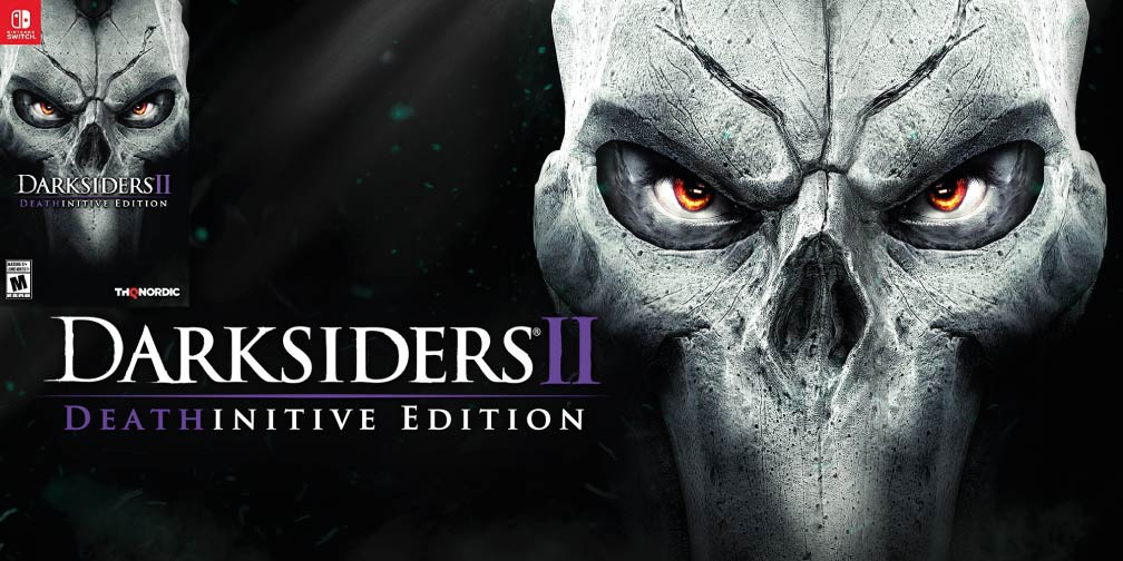 DARKSIDERS 2 DEATHINITIVE 🎮 SWITCH ROM NSP