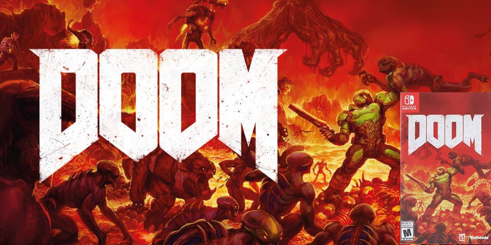 DOOM 🎮 SWITCH ROM NSP