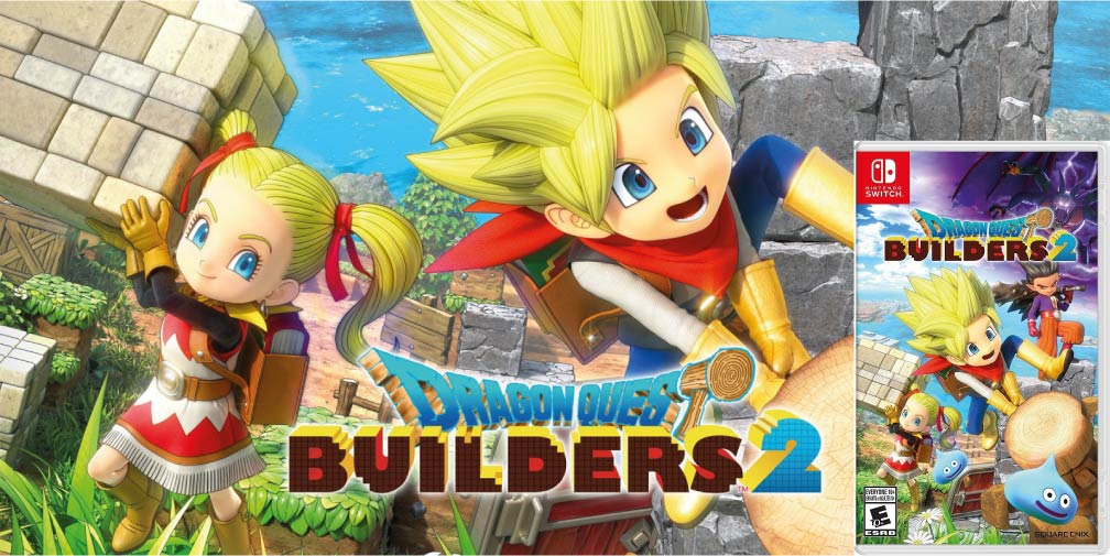 DRAGON QUEST BUILDERS 2 🎮 SWITCH ROM NSP