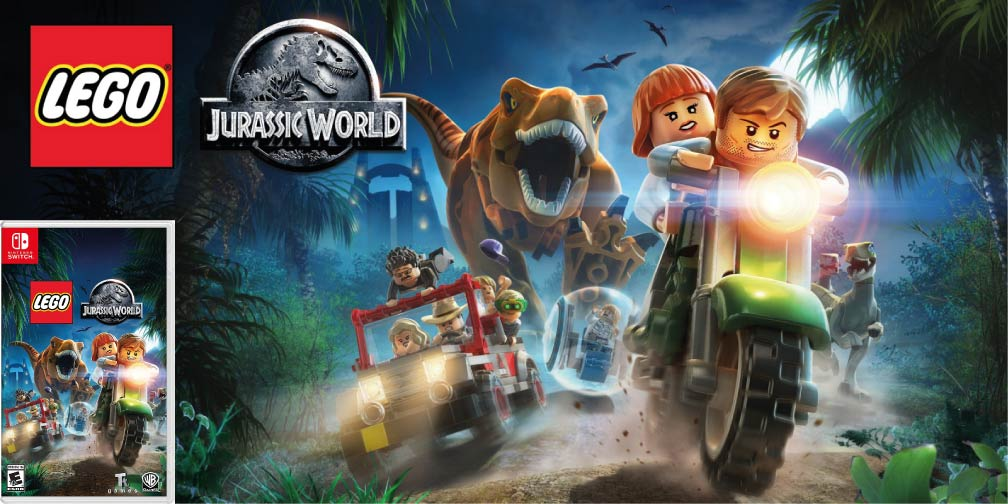 LEGO JURASSIC WORLD 🎮 SWITCH ROM NSP