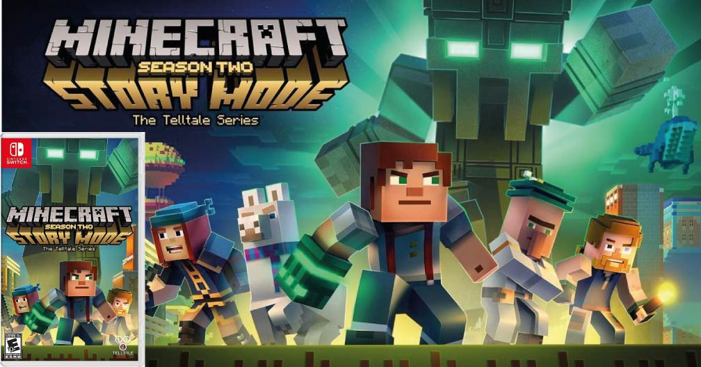 MINECRAFT STORY MODE SEASON TWO 🎮 SWITCH ROM NSP