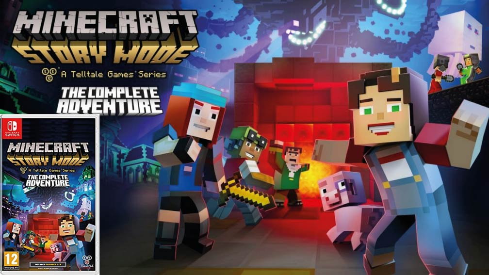 MINECRAFT STORY MODE SWITCH
