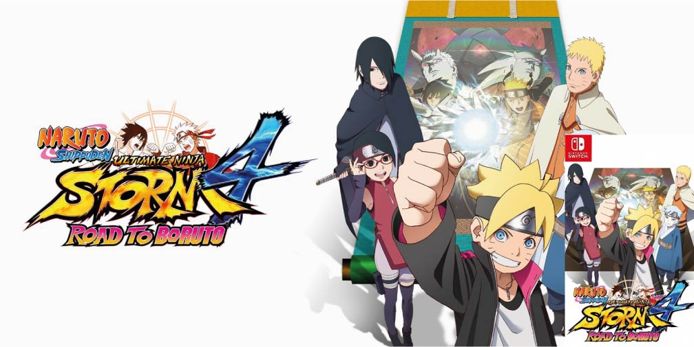 NARUTO SHIPPUDEN: ULTIMATE NINJA STORM 4 ROAD TO BORUTO SWITCH ROM NSP