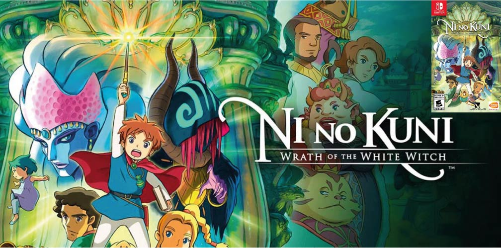 NI NO KUNI: WRATH OF THE WHITE WITCH 🎮 SWITCH ROM NSP