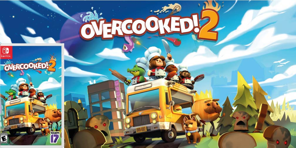 OVERCOOKED 2 🎮 NINTENDO SWITCH ROM NSP