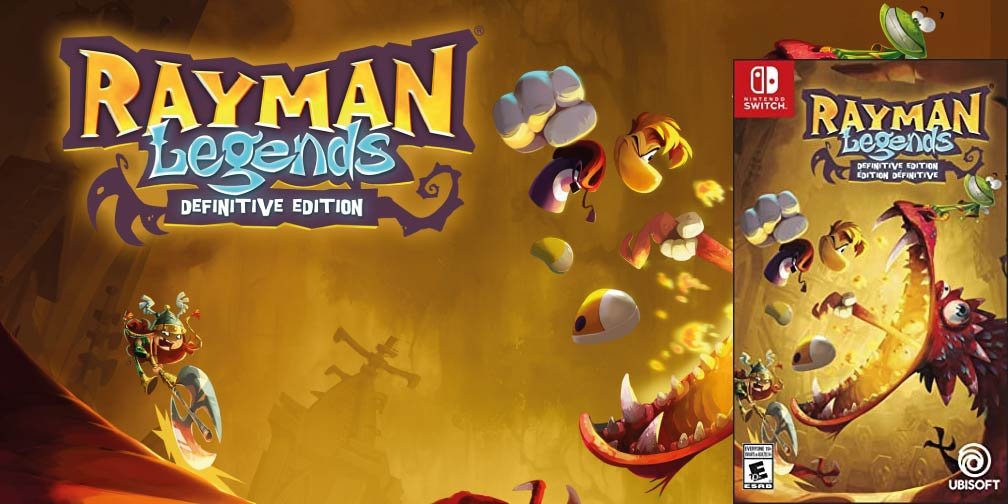 RAYMAN LEGENDS 🎮 SWITCH ROM NSP