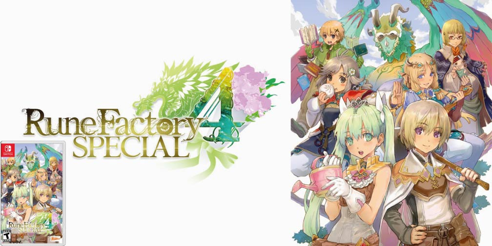 RUNE FACTORY 4 SPECIAL 🎮 SWITCH ROM NSP
