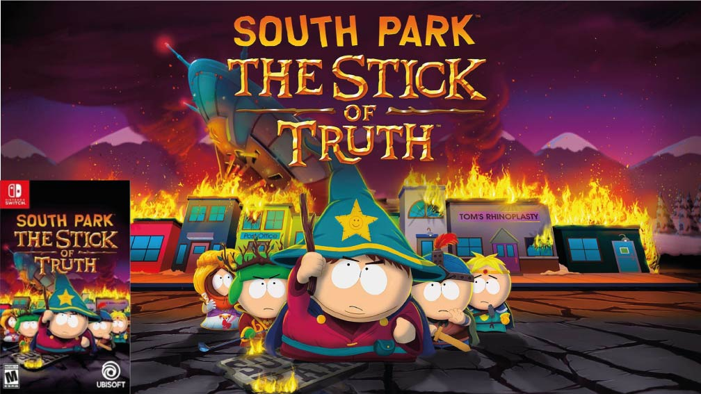 SOUTH PARK THE STICK OF TRUTH SWITCH
