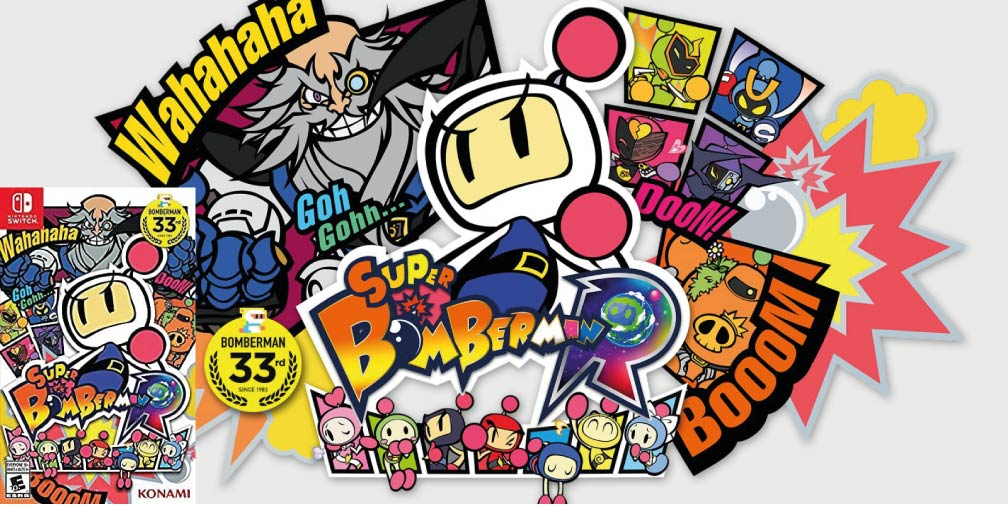 SUPER BOMBERMAN R 🎮 SWITCH ROM NSP