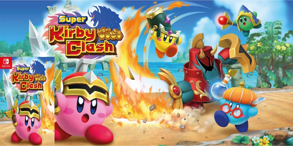 SUPER KIRBY CLASH 🎮 NINTENDO SWITCH ROM NSP