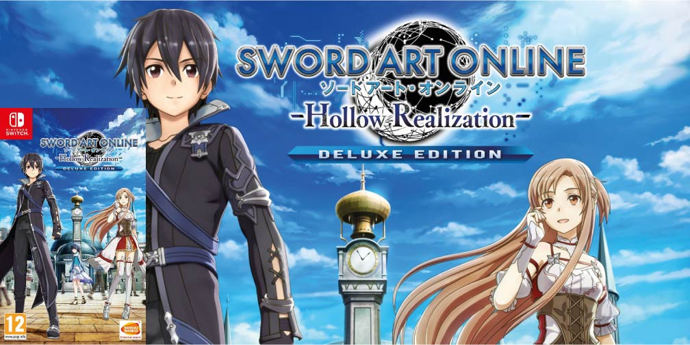 SWORD ART ONLINE HOLLOW REALIZATION switch