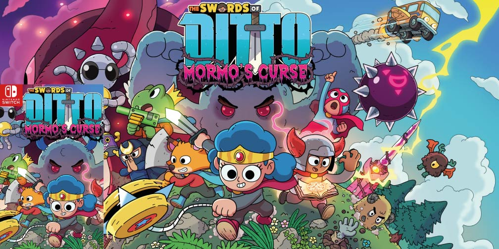 THE SWORDS OF DITTO MORMO'S CURSE 🎮 SWITCH ROM NSP