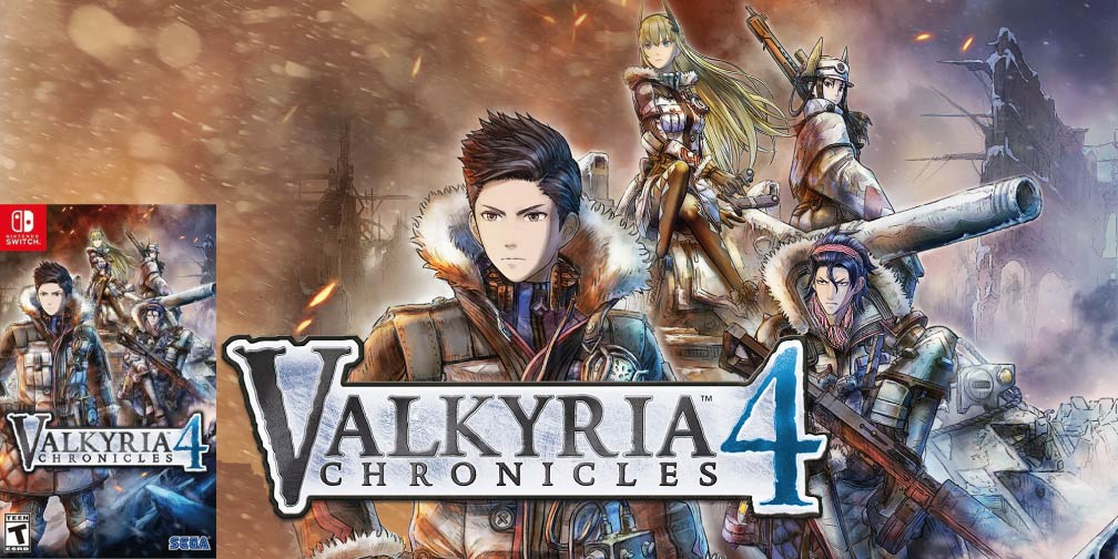 VALKYRIA CHRONICLES 4 🎮 SWITCH ROM NSP