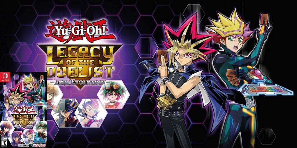 YU-GI-OH! LEGACY OF THE DUELIST: LINK EVOLUTION 🎮 SWITCH ROM NSP