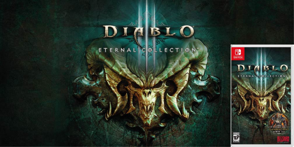 DIABLO 3 ETERNAL COLLECTION 🎮 SWITCH ROM NSP