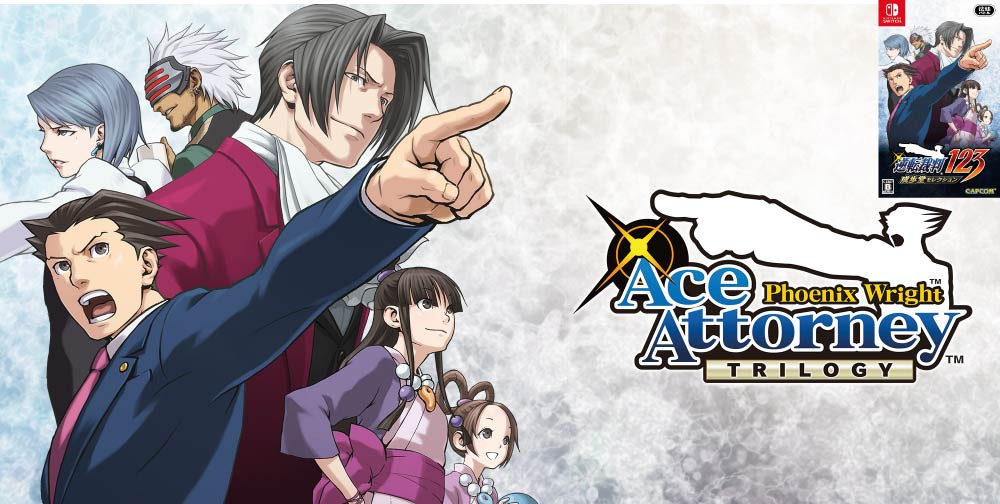 PHOENIX WRIGHT ACE ATTORNEY TRILOGY 🎮 SWITCH ROM NSP