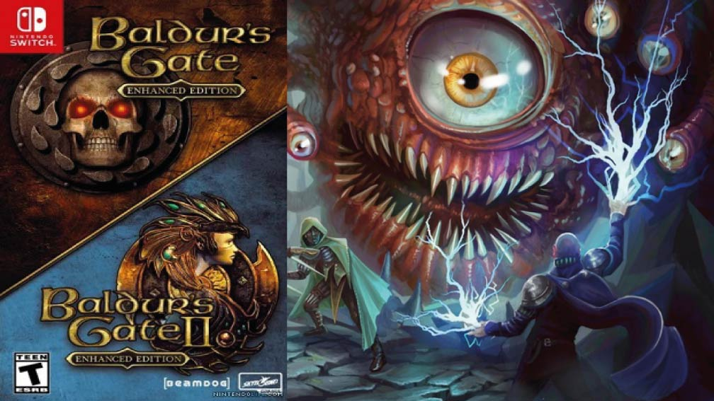 BALDURS GATE ENHANCED EDITION 🎮 SWITCH ROM NSP
