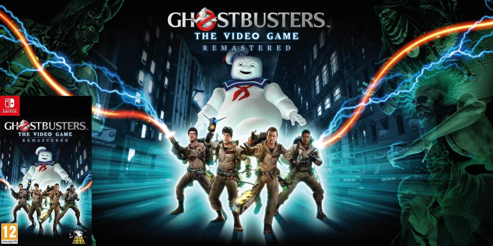 GHOSTBUSTERS: THE VIDEO GAME REMASTERED 🎮 SWITCH ROM NSP