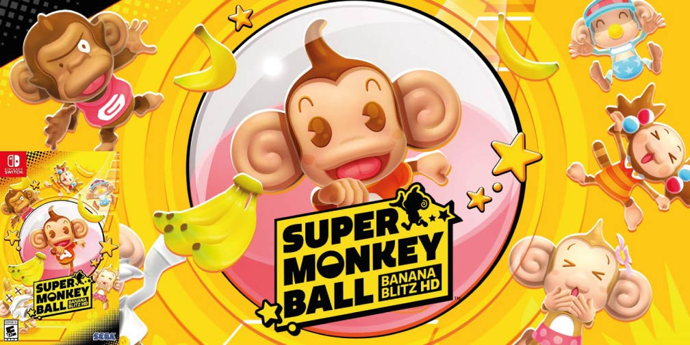 Super Monkey Ball: Banana Blitz HD 🎮 Switch Rom NSP