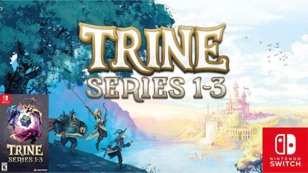 TRINE SERIES 1-3 🎮 NINTENDO SWITCH ROM NSP