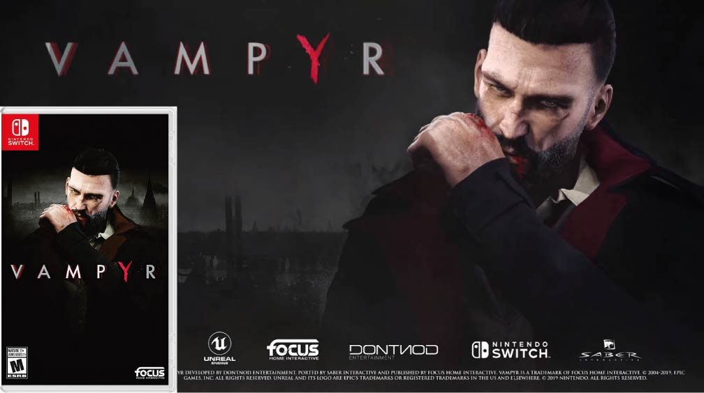 VAMPYR 🎮 NINTENDO SWITCH ROM NSP