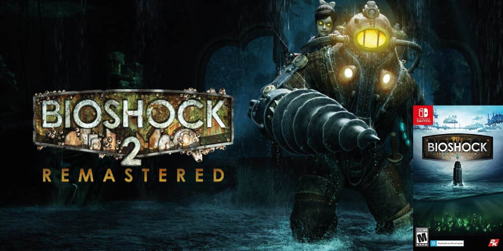BIOSHOCK 2 REMASTERED 🎮 SWITCH ROM NSP