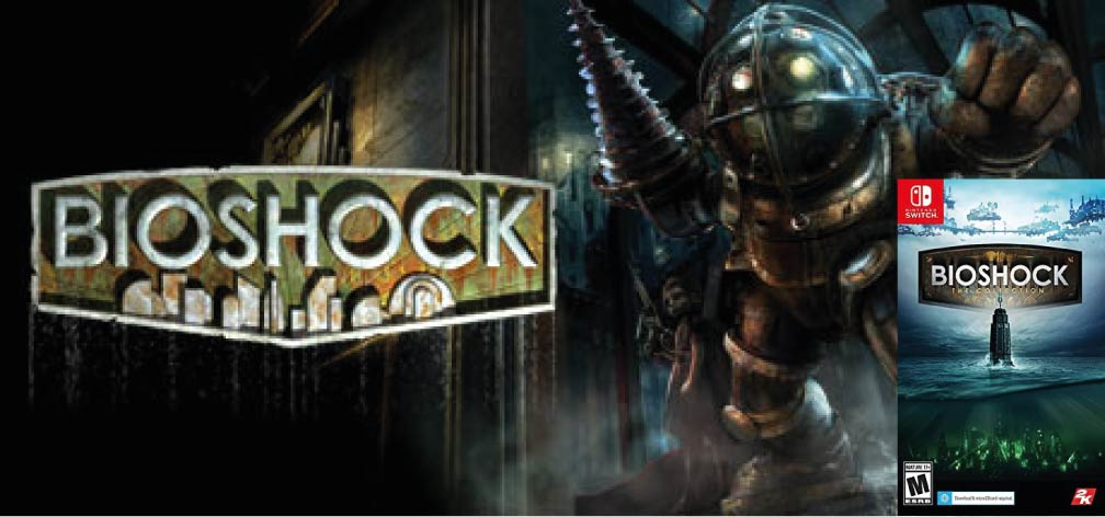 BIOSHOCK REMASTERED 🎮 SWITCH ROM NSP