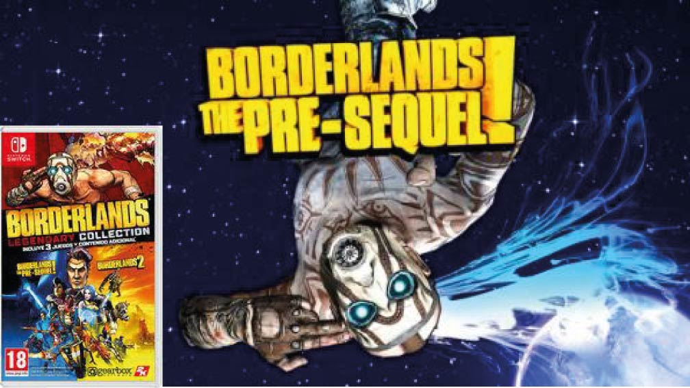 BORDERLANDS: THE PRE-SEQUEL 🎮 SWITCH ROM NSP