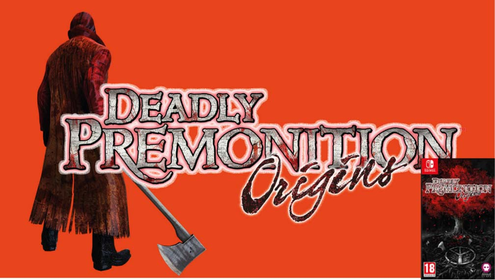 DEADLY PREMONITION ORIGINS 🎮 SWITCH ROM