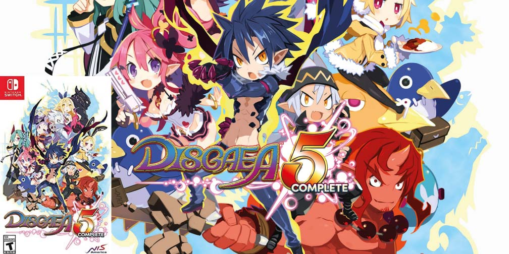 DISGAEA 5 🎮 SWITCH ROM