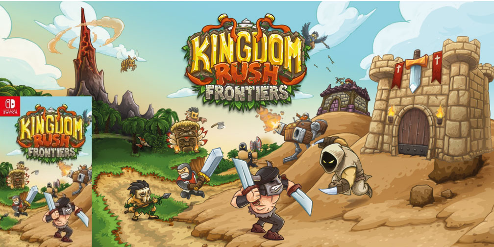 KINGDOM RUSH FRONTIERS 🎮 SWITCH ROM