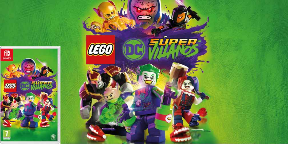 LEGO DC SUPER VILLANOS 🎮 SWITCH ROM