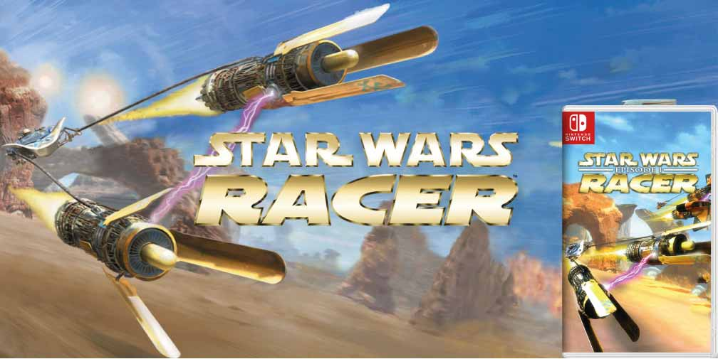 STAR WARS EPISODE 1 RACER 🎮 SWITCH ROM