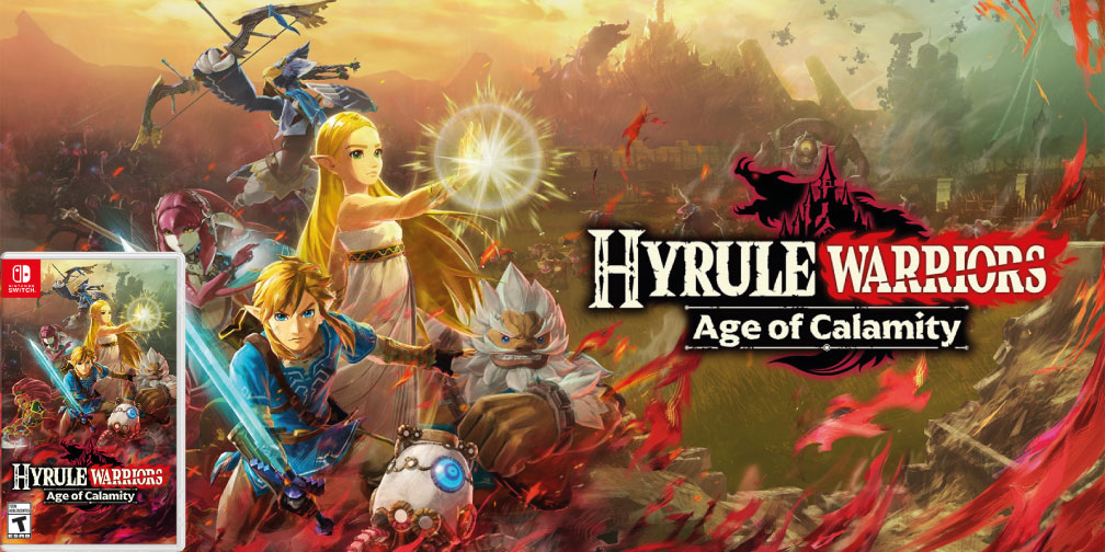 HYRULE WARRIORS AGE OF CALAMITY SWITCH ROM FULL 🎮